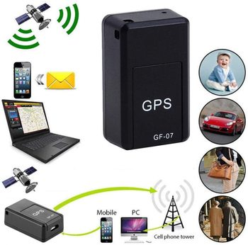 Mini GF07 Anti-Lost Tracking Device Locator Tracker Strong magnetic Smart GPS tracker Real-time GSM GPRS for cars children older