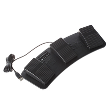 FS3 P usb triplo interruptor de pé pedal controle teclado mouse jogo de plástico
