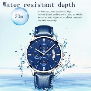 Image 4 - NIBOSI Relogio Masculino Top Marke Luxus Herren Uhren Mode Wasserdichte Auto Datum Quarzuhr Männer Sport Business Männer Uhr