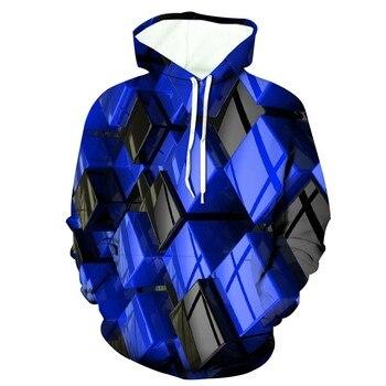 Men's Hoodies Men's 3d Funny Jacket Long Sleeve Hooded New Style Coat Hoodie Blouse Tops Мужские Комплекты 1