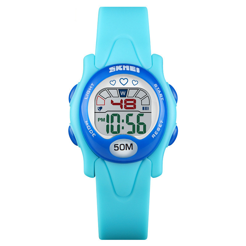TurnFinge Children% 27s Digital Watch Waterproof Children Boys Girls LED Quartz Alarm Clock Date Sports And Leisure Hot Sale Gift