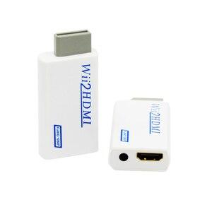 Image 1 - עבור ה wii כדי HDMI ממיר מתאם מלא HD 1080P עבור ה wii כדי HDMI Wii2HDMI ממיר 3.5mm אודיו AUX עבור PC HDTV צג תצוגה