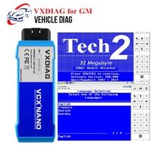 Herramienta de diagnóstico VXDIAG VCX NANO para GM, para escáner Saab/OPEL/Opel GDS2/Tech2win OBD2, programador ECU de clave igual que TECH2/MDI