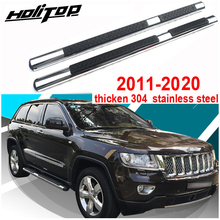 new arrival side step running board foot board foot steps pedals for Jeep Grand Cherokee 2011 2020, hot sale in China market.