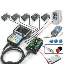 3 4 5 оси ручной автономный ЧПУ контроллер движения G код USB ручка пульт дистанционного управления MPG для шагового серводвигателя CNC гравировка