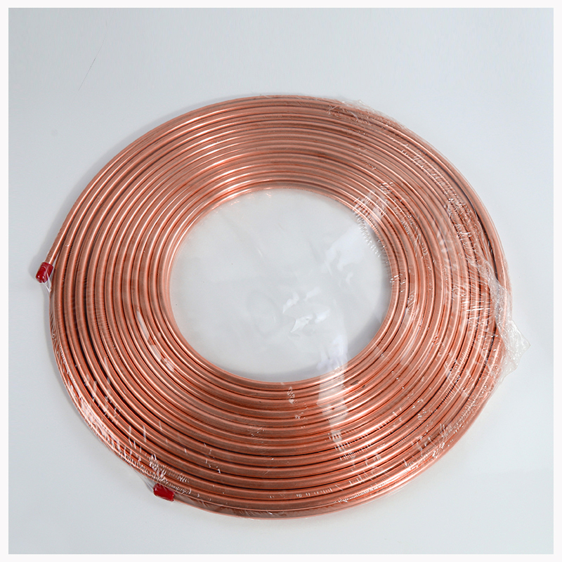 Copper Pipe for Generators for Busbar Copper Tubing T2 Copper Refrigeration Tubing