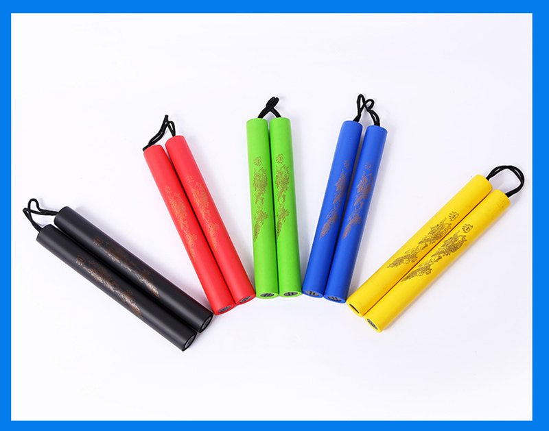 Beginner Foam Safety Nunchaku Training Martial Arts