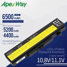 Аккумулятор Apexway для ноутбука L11L6F01 L11L6R01 L11L6Y01 L11M6Y01 L11N6R01 L11N6Y01 для Lenovo Y480 G480 G485 G580 G585 Z580 Z585 Z485 Z485