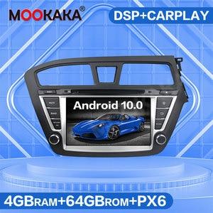 Image 2 - Für HYUNDAI ICH 20 I20 2014   2019 Android 10,0 64GB Auto Multimedia Player Radio GPS Navigation Audio Stereo autostereo Kopf Einheit