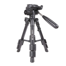 ZOMEi Q100 Mini Travel Tabletop Tripod Tabletop Tripod with 3 Way Pan/Tilt Head 1/4 Inches Quick Release Plate and Bag for Dslr
