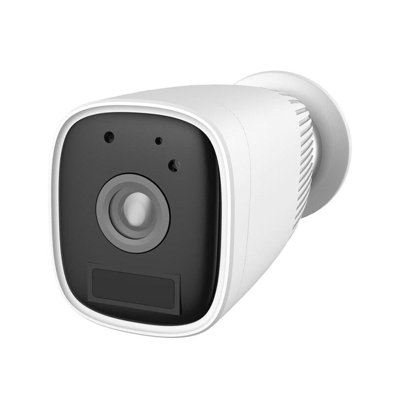 HD 1080P Wifi batterie IP caméra extérieure sans fil Rechargeable caméra étanche PIR alarme pour caméra de sécurité prise ue