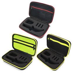 Caso de barbear portátil aparador oneblade e acessórios eva saco de viagem com zíper caixa de armazenamento pacote pro qp150/qp6520/qp6510