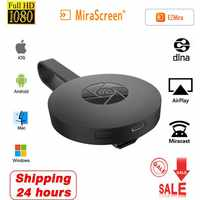 2.4G 1080P Wireless HDMI Wifi Display TV Stick Receiver Dongle Ezair Mirascreen Miracast Airplay EZMira Cast For iOS Android PC