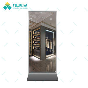 High definition standing mirror like screen Full colour