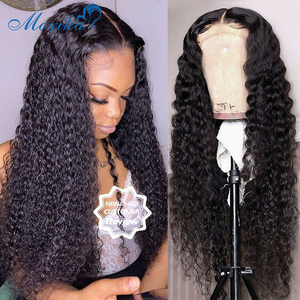 Bob Wig Lace Front Human Hair Wigs Bob Lace Front Wigs 180 Density 30 Inch Wig Preplucked And Bleached Knots Lace Wig Curly Wig(China)