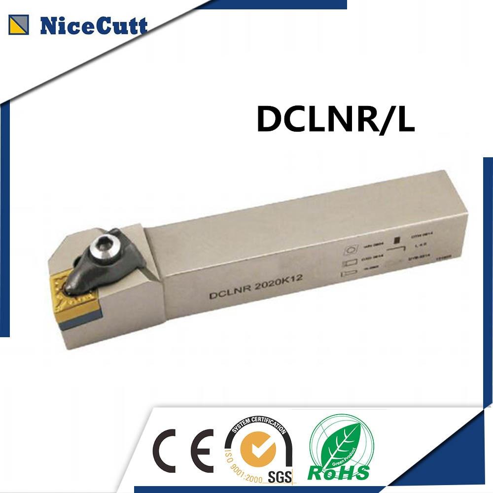 DCLNR/L 1616/2020/2525/3232 Nicecutt External Turning Tool Holder For CNMG Insert Lathe Tool Holder Hight Quality Free Shipping