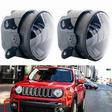 1 pair of 3.5 inch For JK Wrangler JL2005 2015 JK LED fog lights front bumper lights