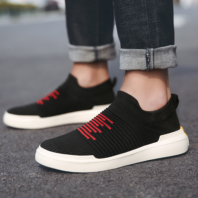 Damyuan 2019 New Fashion Shoes Men Women Casual Sneakers Skin-friendly Flying Weaving Comfortables Lightweight