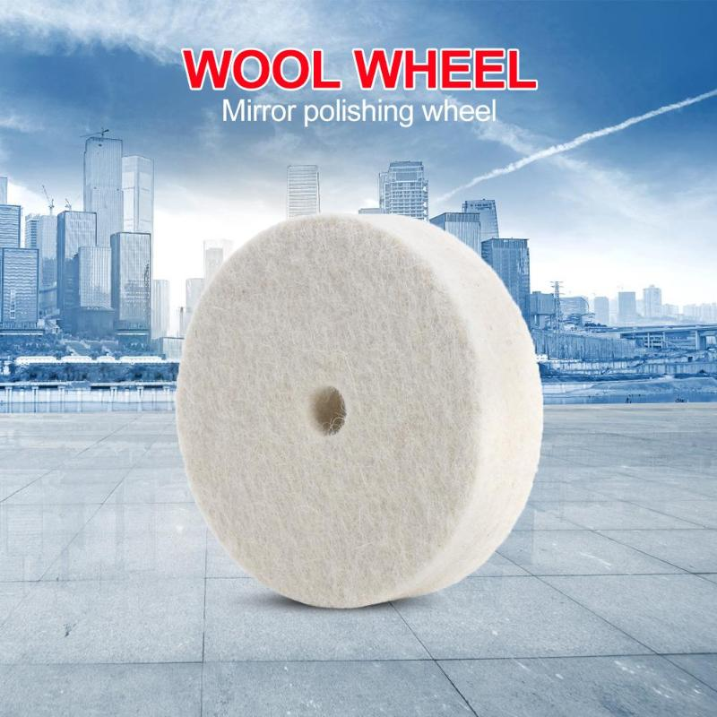 Cloth Polishing Mop Wool Felt Wheel Buffing Grinding Wheel Pad Abrasive Tools Widely Used In Stainless Steel Aluminum
