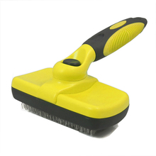Pet grooming brush, dog comb, self cleaning brush for small, large dog, cat, long hair pet hair deshedding dog cat brush comb sticky hair gloves hair fur cleaning for sofa bed clothe pets dogs cats cleaning tools