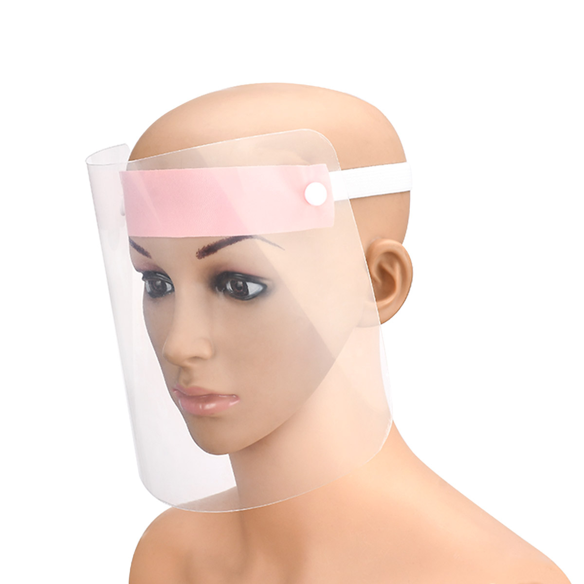 Transparent Face Protective Shield Tool Set Dust-proof Protect Full Face Care Covering Visor Shield Cover