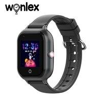 Wonlex-reloj inteligente 4G HD para niños, dispositivo con GPS, localizador antipérdida, con tarjeta Sim KT24, llamadas, regalo para bebés