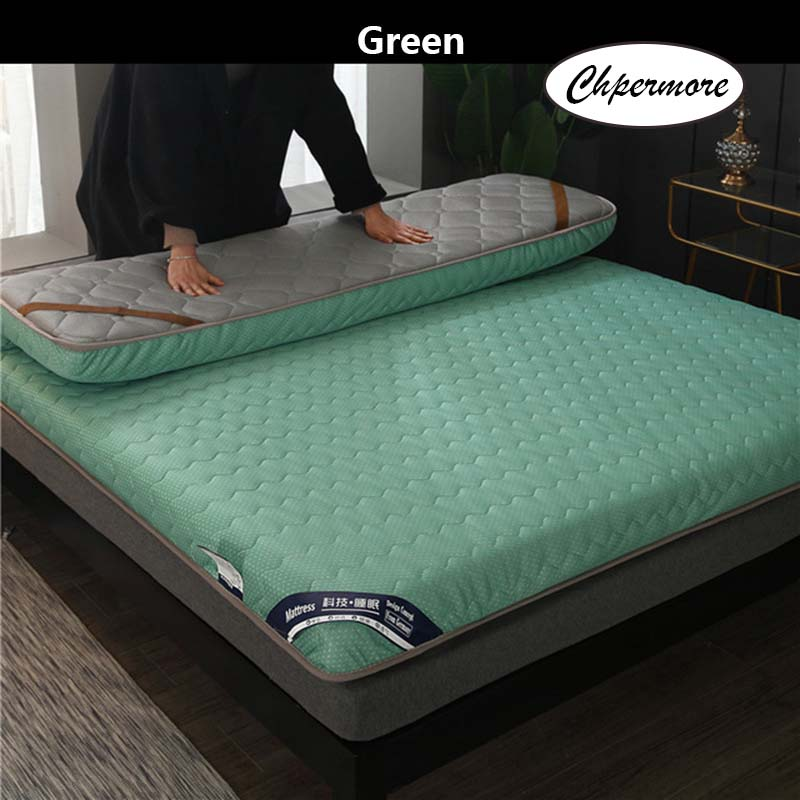 Image 4 - Chpermore New double sided breathable Mattress Thickened student Tatami Foldable Mattressess  For King Queen Twin Full Size-in Mattresses from Furniture
