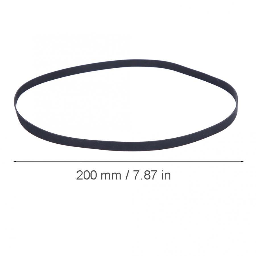 Bedler Ceinture de tourne-disque en caoutchouc Phonographe p/érim/ètre de la ceinture du platine tourne-disque 40cm
