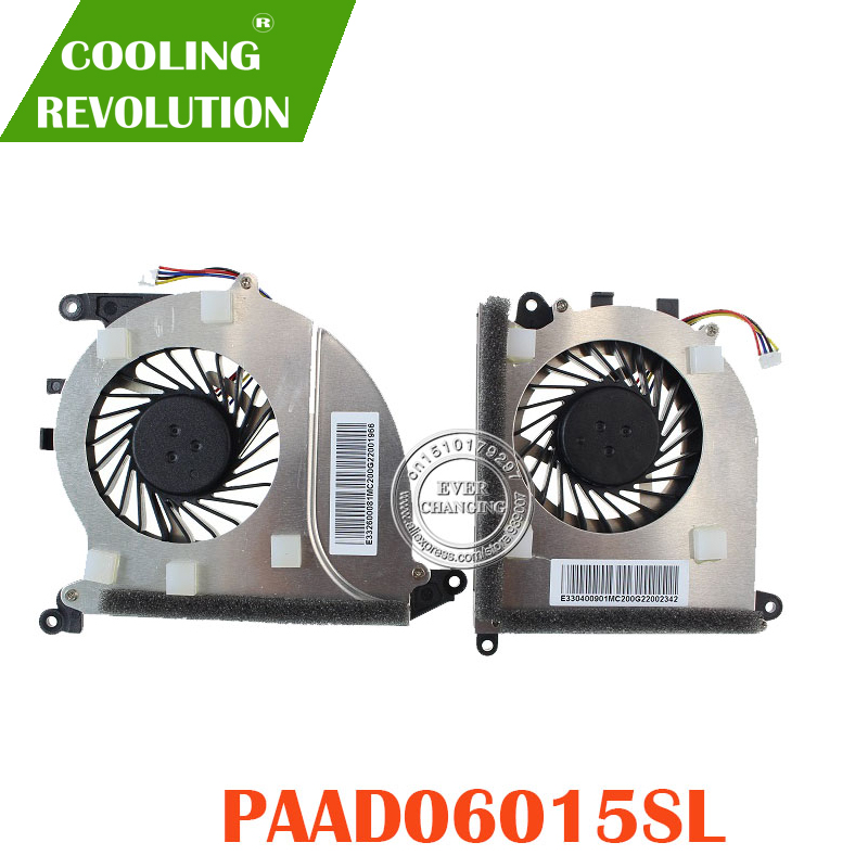 NEW COOLING FAN For MSI GS43VR PAAD06015SLcooling fanmsi fanfan msi