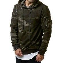 Brand New Men Camouflage Print Hoodies Sweatshirt Fashion Army Camouflage Military Warm Tracksuit Plus Size Jacket 3XL худи print bar brown camouflage