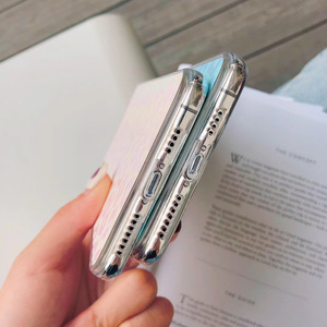 Image 5 - 60 pcs/lot Fille Paillettes Couverture Arrière Souple pour iphone XS MAX X XR 11Pro 7 8 Plus changement couleur Mignon Bling TPU, MYL PFB9