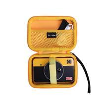 LTGEM Waterproof EVA Hard Case for Kodak Mini Shot 2 Retro Portable Wireless Instant Camera & Photo Printer-Yellow