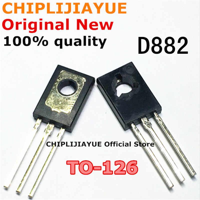 20 Pcs D882 TO126 2SD882 Te-126 882 Nieuwe En Originele Ic Chipset