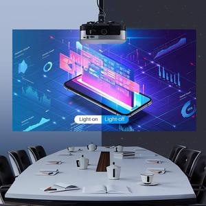 Image 5 - POWERFUL LED Projector SV 428 Support 1080p 3800 Lumens Optional Android (1G+8G) WIFI Bluetooth for Home Cinema Video Beamer