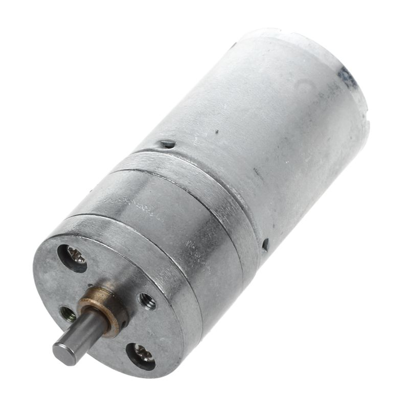 12V DC 100RPM High Torque Gear Box Electric Motor 25mm image