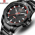 Men Watch NAVIFORCE Top Brand Waterproof Quartz Wrist Watches Mens Stainless Steel Sports Male Clock Date Relogio Masculino