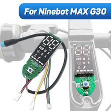 Original Dashboard for Ninebot MAX G30 KickScooter Electric Scooter Controller Dash Board Dispaly Kit Assembly Parts