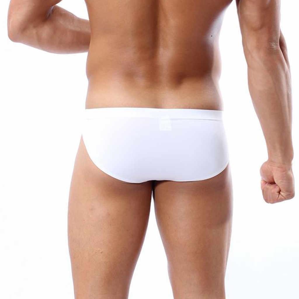 الأولاد ملابس السباحة السراويل الجديدة 2020 الربيع الصيف لون نقي الموضة شقة الزاوية الشاطئ الرياضة موجز الرجال السباحة بنطلون # T1P