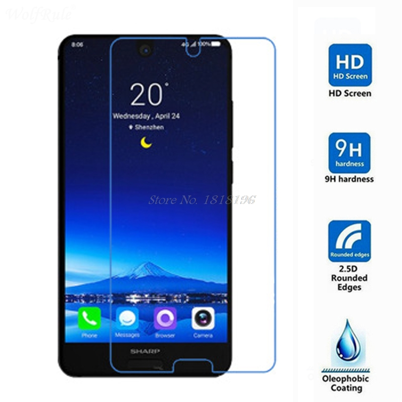 Tempered Glass For Sharp Aquos S2 C10 Screen Protector 9H 2.5D Phone On Protective Glass For Sharp Aquos C10 S2 Protective Glass