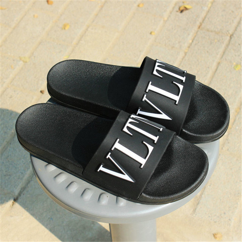 Large Size Men's Slippers 47 50 Beach Sandals Three dimensional Letters Outdoor Casual flip flops Home Shoes Slippers Men on AliExpress