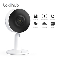 Laxihub UHD 3MP IP Mini Surveillance Camera Security Baby Monitor 2K Wifi Camera Webcam Indoor Cams With Motion Detect for Pet
