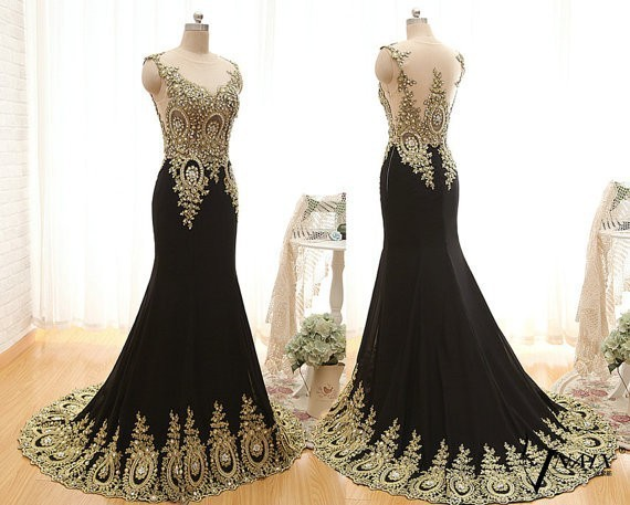 Beaded Sleeveless Evening Gown Party Carpet Mermaid Prom 2018 Lace Appliques Sexy See Through Back Mother Of The Bride Dresses
