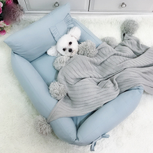 Large removable dog bed, sofa, thick beds for hot dogs,  large medium bedding puppies