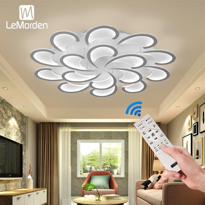 New Led Chandelier Indoor Lighting For Living Room Bedroom Home Chandeliers By LeMorden Ceiling Chandelier Lamp