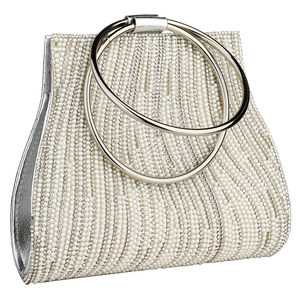 Image 4 - Woman Evening Bag Diamond Rhinestone Clutch Crystal Day Lady Wallet Wedding Purse Party Banquet Silver Handbags Clutches Tote