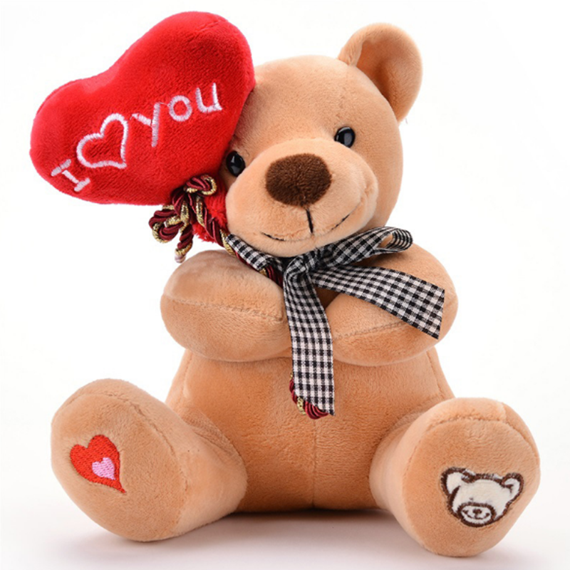 Hot High Quality 18cm Cute Balloon Teddy Bear Plush Doll Stuffed Animals Anime plush Kawaii Room Decor