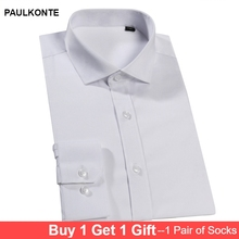 2019 MenS Formal Business Casual Shirt High Quality Fashion Simple Classic Wild Long Sleeve