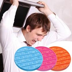 Popit Fidget Toyfor Adult Children Push Bubble Fidget Sensory Toy Autism Special Needs Stress Reliever Fidget Spinner антистресс