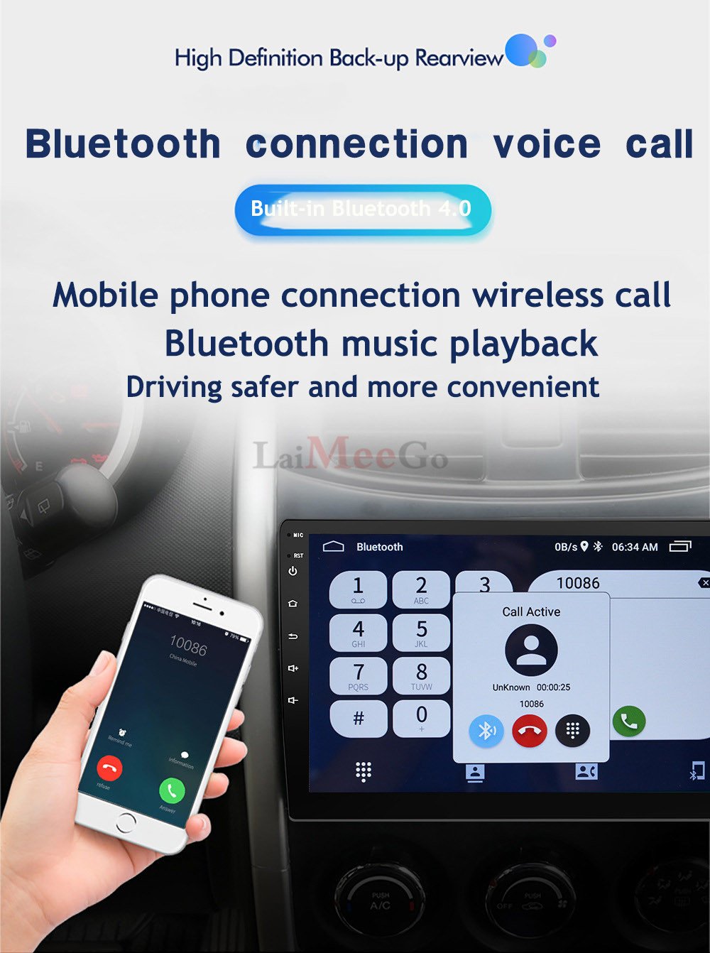 2din Car radio 9 10.1inch Android system Auto stereo 2.5D Capacitive Screen Bluetooth WIFI GPS Quad Core For Universal Car  (14)