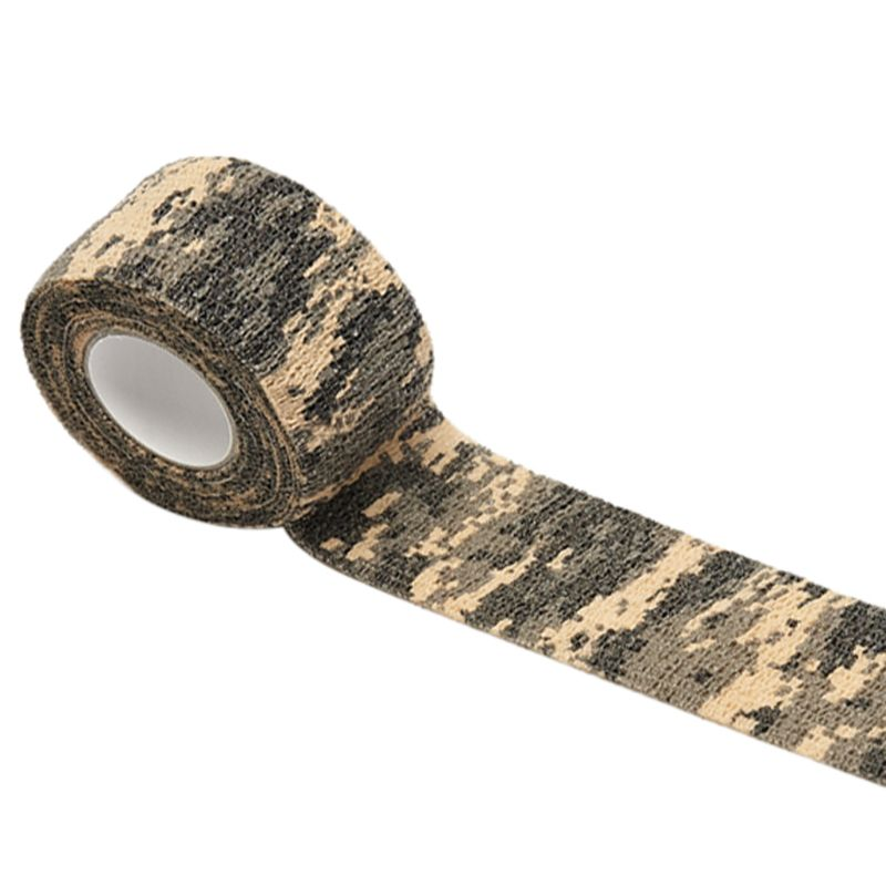 4.5m Self-Adhesive Camouflage Stretch Medical Bandage Non-Woven Protective Tape